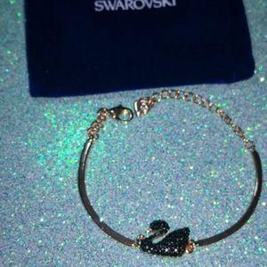 """Swarovski Jewelry - BRACELET.Swarovski. New ! 8""""sz .Pink Gold."""